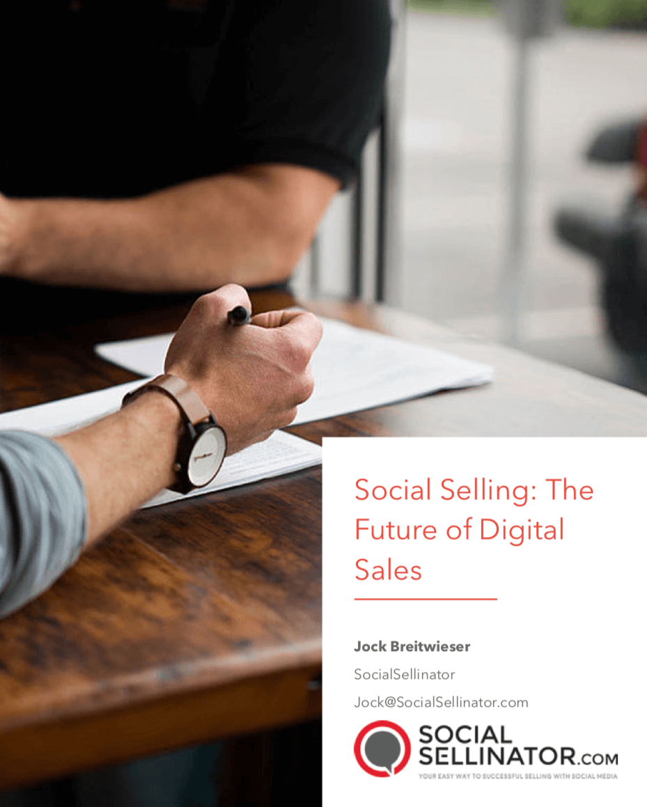 Social Selling - the future of digital sales-1