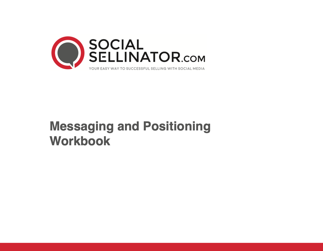 Messaging and Positioning