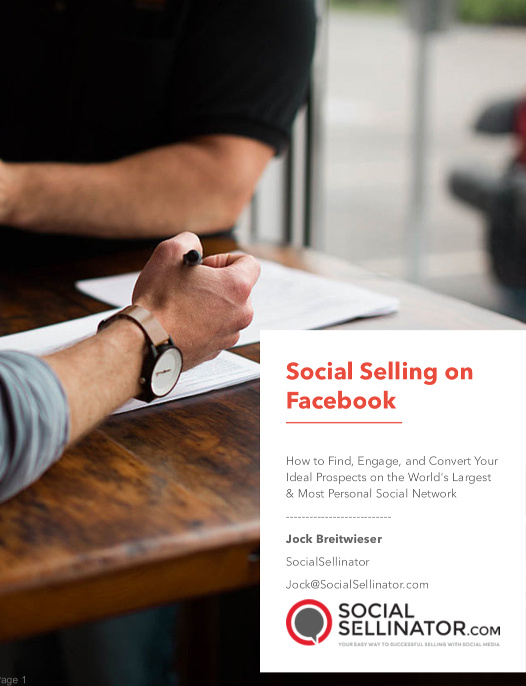 Social Selling on Facebook
